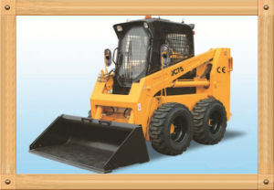 CE 1.05ton/55kw/0.5m3 Skid Steer Loader (JC75) pictures & photos