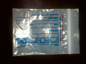 Medicinal Bag, Zip Lock Bag, Pillbag for Packing Pills pictures & photos