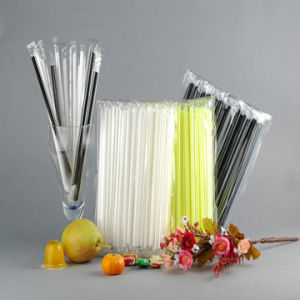 Hot Sale Individually Oppfilm Wrapped Straws pictures & photos