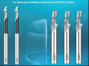 Single Flute End Mills for Aluminum Copyrouters