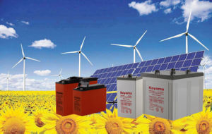 Hot Sale 2V 3000ah Solar & Wind Power System Battery with Long Life Serivce pictures & photos