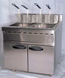 Vertical Electric Fryer of 26L pictures & photos