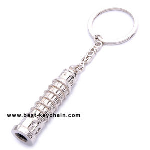 Custom Souvenir Italy Gift 3D Roma Tower Metal Keychain (BK11644) pictures & photos