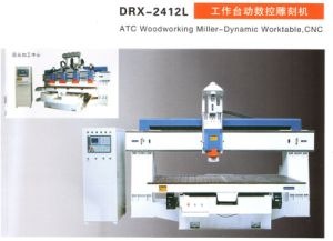Model DRX-2412L Worktable Movable CNC Carving Machine pictures & photos