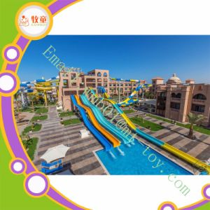 Fiberglass Water Tube Open Slides for Private Pool pictures & photos