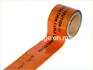 Caution Sewer Line Buried Tape Detectable Marking Tape pictures & photos