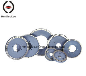 Diamond Grinding Wheels For Segmented Continuous-Rim Wet Triming Wheel pictures & photos