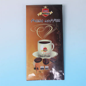 Glossy Foil Coffee Bags with Valve and Tin Tie, Coffee Bag with Design pictures & photos