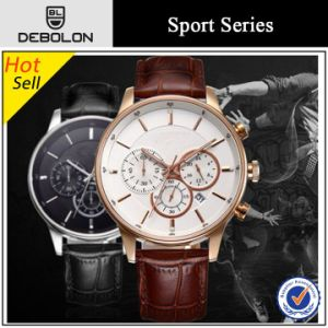 High Quality Chronograph Mens Stainless Steel Swiss Watch