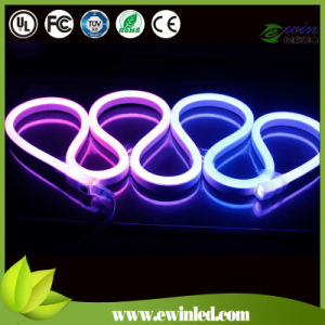 12V 10*20mm Flat Digital RGB LED Neon Light with SMD5050 pictures & photos