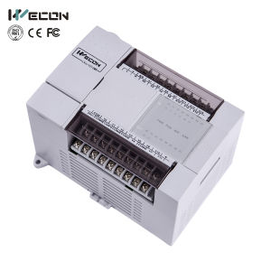 Wecon PLC Controller with 26 Points Support Remote Control Lx3V-1412mr2h-a (D) pictures & photos