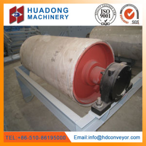 Cement Used Durable Reliable Steel Pipe Drum Head Pulley with ISO Certificate pictures & photos