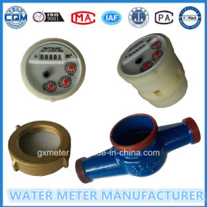 """3/4"" Iron Body Multi-Jet Dry Type Mechanical Water Meter pictures & photos"