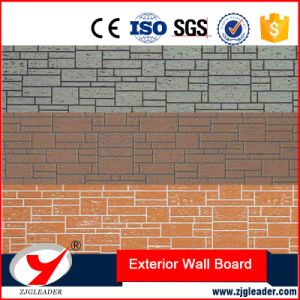 Color Cement Series Timber Grain Style Exterior Wall Decorative Board pictures & photos