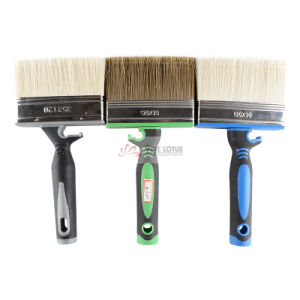 Double Color Rubber Handle with Pet High Quality Paint Brush Wall Brush pictures & photos