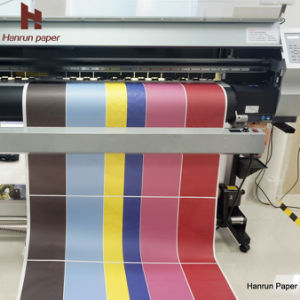 Fast Dry, High Transfer Rate, 45/80/100GSM Sublimation Transfer Paper Roll Size for Chiffon pictures & photos