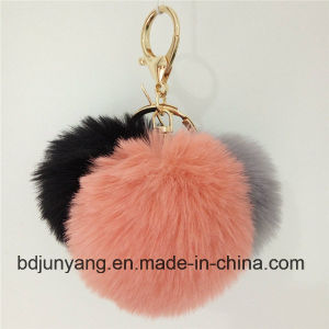 Fluffy Colorfurl Faux Fake Rabbit Fur Ball pictures & photos