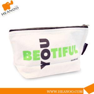 Fashion Small Victoria Secret Plain Wholesale Canvas Cosmetic Bag pictures & photos