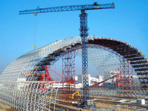 Steel Space Frame for Coal Shed pictures & photos