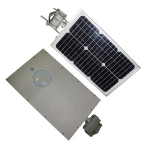 15W High Quality All in One LED Solar Street Light with PIR Motion pictures & photos