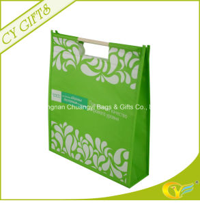 Non Woven Punch Shopping Bag with Stick