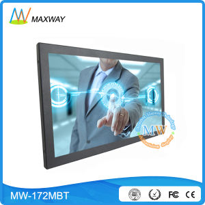 17 Inch Touch Screen LCD Monitor with USB HDMI DVI VGA Input (MW-172MBT) pictures & photos