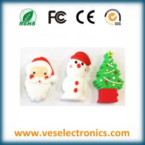 Special Items PVC Custome USB Flash Drive as Christmas Gift pictures & photos