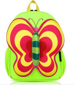 OEM Cute Butterfly Girl′s School Backpack Bags pictures & photos