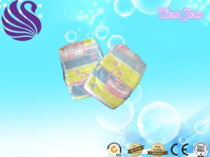 Cheap Price High Absorption Breathable Film Disposable Baby Diaper pictures & photos