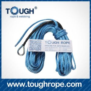 Tr-50 Dyneema Synthetic 4X4 Winch Rope with Hook Thimble Sleeve Packed as Full Set pictures & photos
