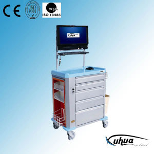 Moveable Hospital Medical Emergency Cart (P-15) pictures & photos