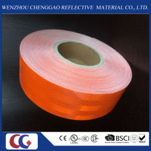 3m High Quality Micro Prism Orange Truck Reflective Material Tape pictures & photos