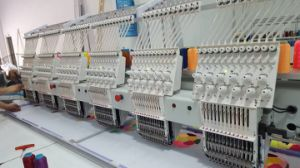 Wonyo 6 Head Computerized Embroidery Machines in South Korea pictures & photos