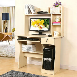 Modern Design Cheap Wooden Furniture Table Computer Desk (FS-CD018) pictures & photos