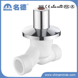 PPR Y-Type Double Fusion Stop Valve (PERT) for Building Materials pictures & photos