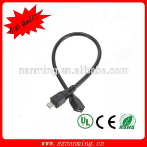 Customized Length USB Extension Cable Micro Connector pictures & photos