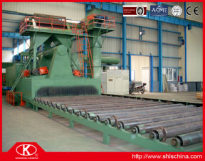 Sand Blasting Line for Large Size