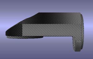 Car Carbon Fiber Interior Trims for Porsche Macan