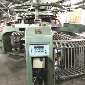 Second-Hand 34 Inch Xinlong Single Jersey Open Width Knitting Machine pictures & photos