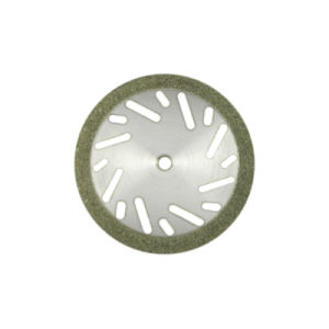 E22D20 22mm Perforated Dental Edge Coated Diamond Disc Sanding Discs pictures & photos