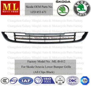 Front Lower Bumper Grille for Skoda Octavia From 2008 (1ZD 853 671) pictures & photos