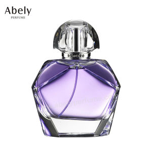 60ml Unique Polygon Polished Glass Perfume Bottle pictures & photos