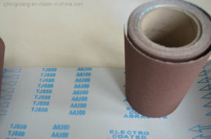 J-Wt Cloth Calcined Aluminum Oxide Abrasive Cloth Tj538 pictures & photos