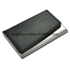 Stylish PU Business Name Card Holder (QL-MPH-0015) pictures & photos