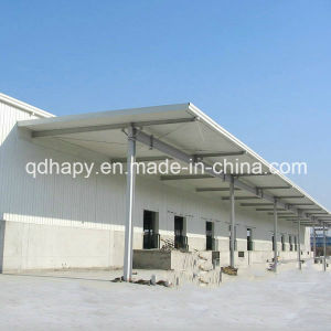 Low Cost Steel Structure Warehouse with Long Service Life pictures & photos