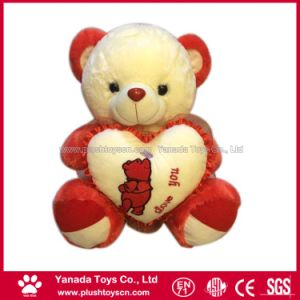 45cm Soft Plush Stuffed Heart Teddy Bear Toy