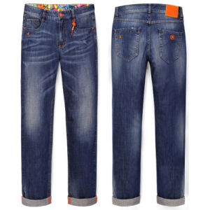 Mens Classic Denim Cotton Leisure Pants