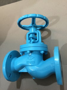 DIN PN16 Cast iron GG25 manual type globe valve pictures & photos