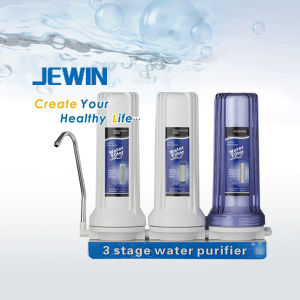 2 Stage Counter Top Carbon Water Filter with Faucet pictures & photos