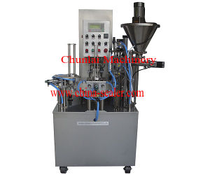 Kis-900 Rotary Type Filling Sealing Machine pictures & photos